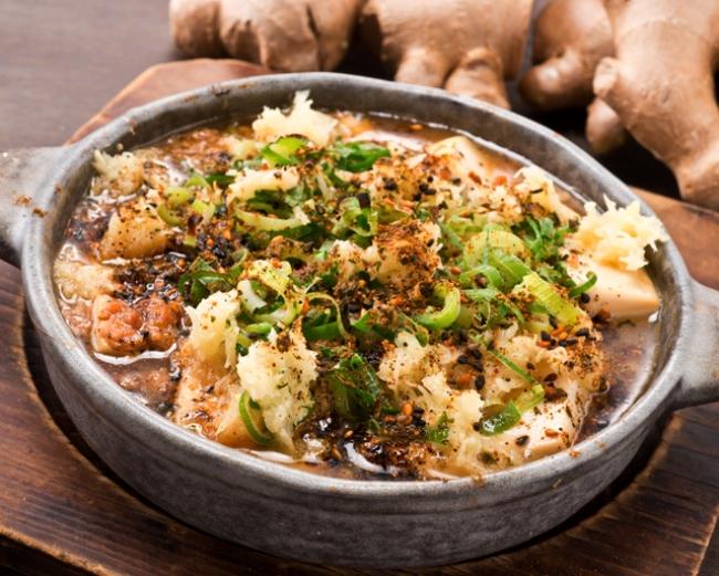 生姜麻婆豆腐