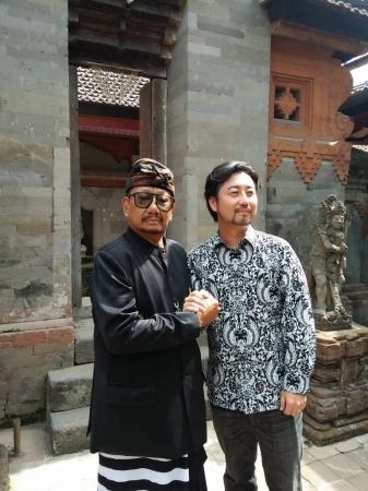 Badung王Ida Cokorda Pemecutan XI陛下との会談