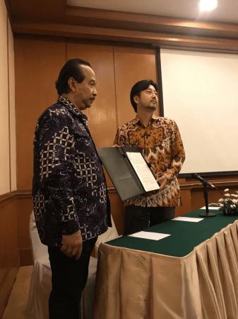 インドネシア共和国政府認定暗号通貨協会理事長Erwin Hadiyanto氏