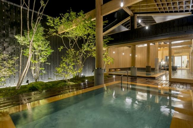 第3の新大浴場「木もれ陽の湯」