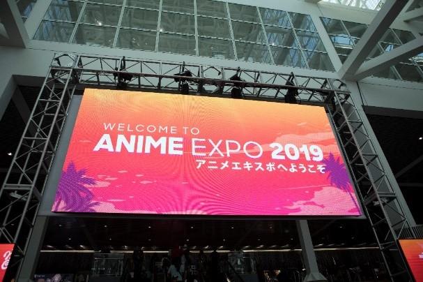 2019年7月に開催された「Anime Expo 2019」会場の様子