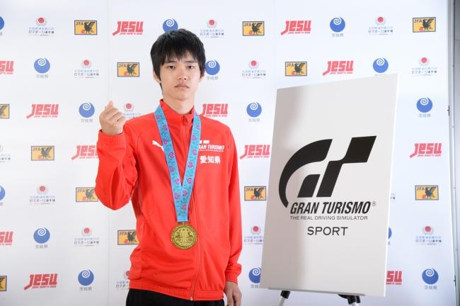 ▲少年の部優勝:愛知県代表 水野航望選手
