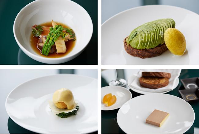 ビストロスタイルのプレートには、質の高さが感じられるご朝食