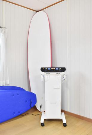 楽トレに対応した複合高周波EMS機器「rakutore LITE(ラクトレ ライト)」