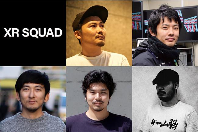 中心メンバー:上段左から時計回りに、村山 健、高嶋 一成、清水 幹太、小川 恭平、公文 悠人