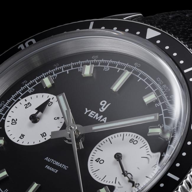 フランス腕時計ブランドYEMA(イエマ)の新作《Speedgraf スピードグラフ》プレオーダー開始