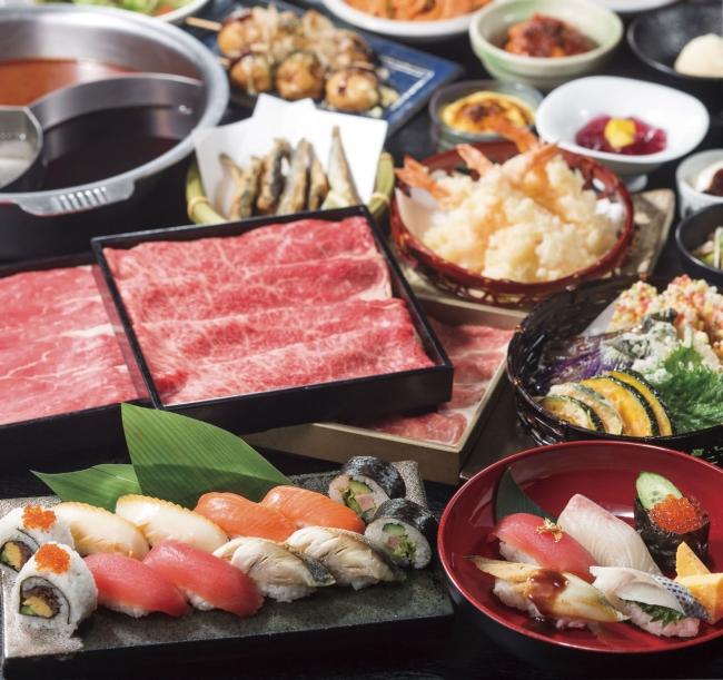 食べ放題コース1,980円~