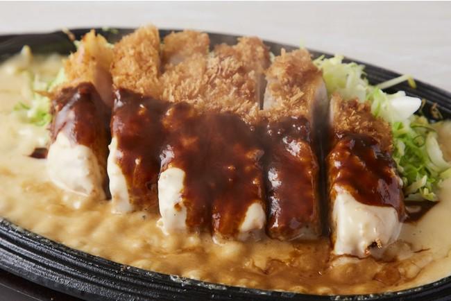 チーズデミソースかつ ※写真は220gのイメージです。