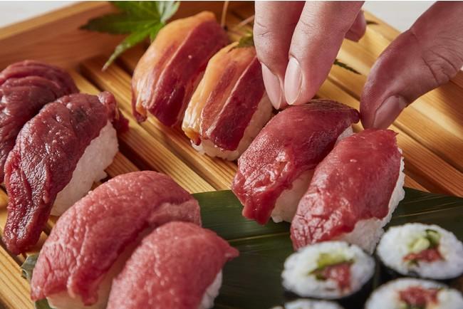 馬肉寿司 1貫260円~ ※写真はイメージです。