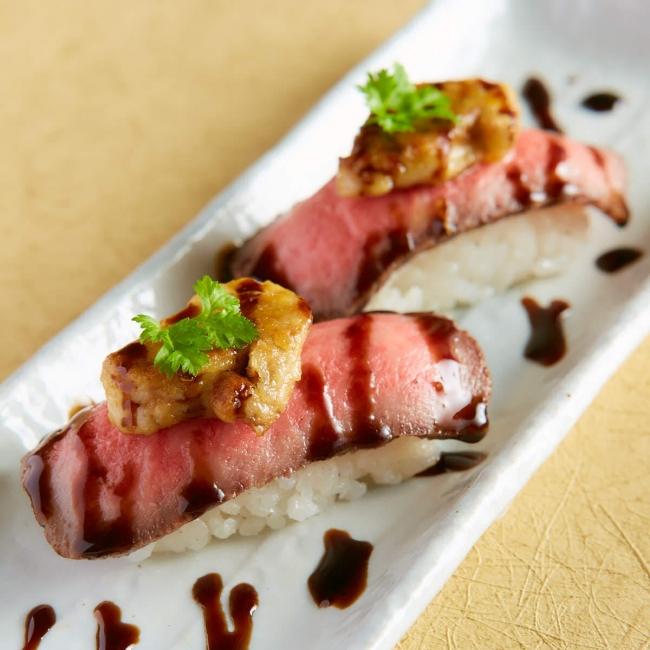 ローストビーフ フォアグラ寿司