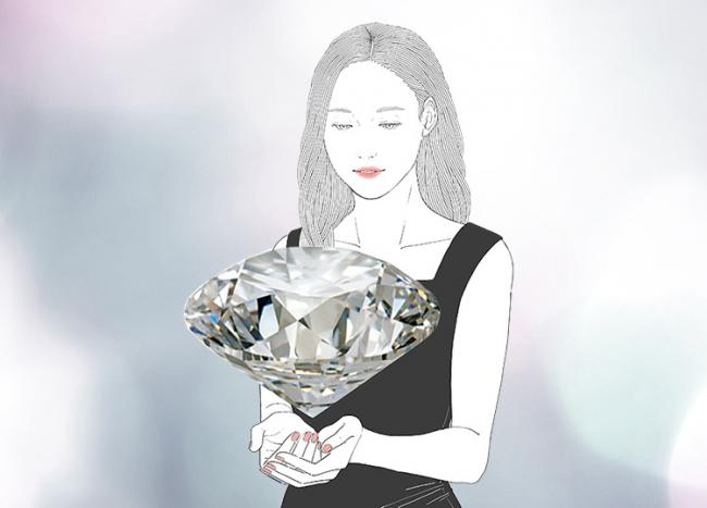 「ダイヤモンドの純粋さ」を追求し、「身に纏う幸せ」を思い描いて、「ともに生きていくジュエリー」を。
