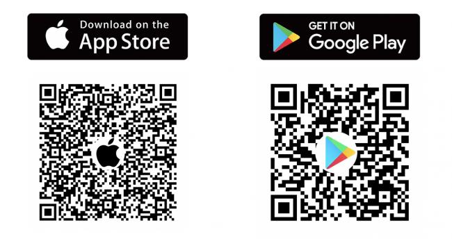 mochaアプリダウンロード用QRコード