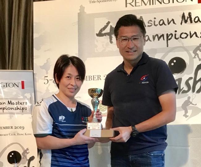 女子45-49優勝 道下和子さん
