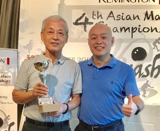 男子65-69優勝 和田猛さん