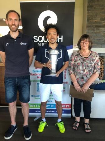 Auckland Open 表彰式