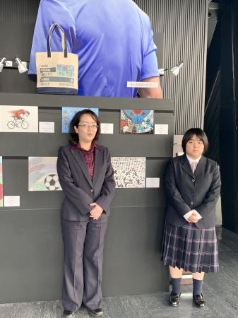 左)望月美香さん 右)小山桃子さん