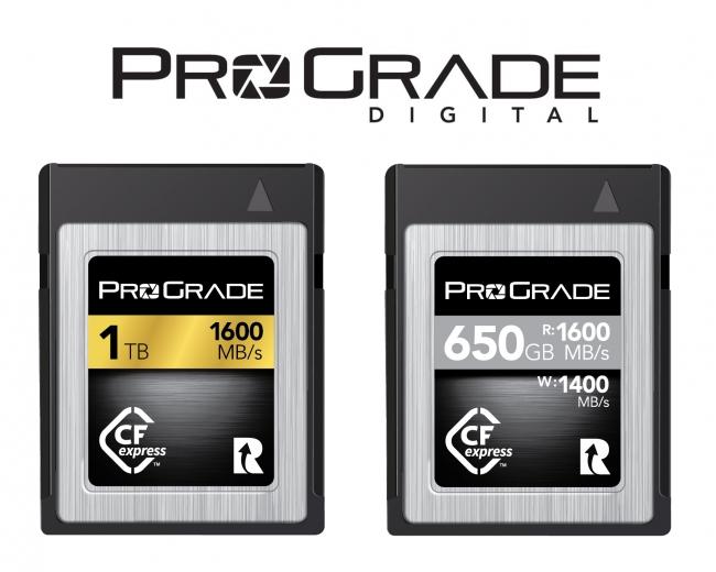 ProGrade Digital(プログレードデジタル)がCFexpress™1 0