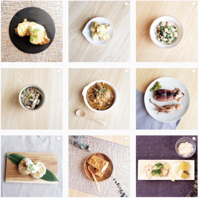 公式Instagramより、実際にご提供しているお料理