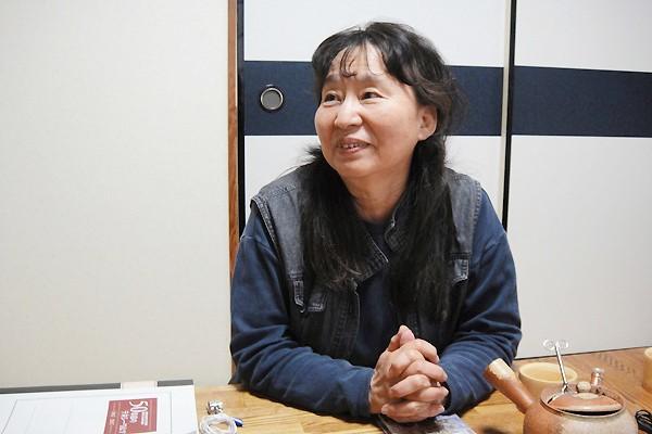 NPO法人加茂女(かもめ) 理事長 曽我 千代子