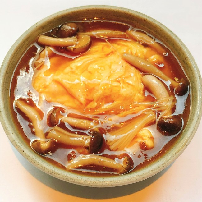 生姜と木ノ子の醤油とろみ餡掛け