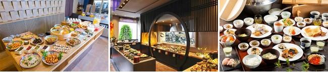 3ホテルの朝食イメージ