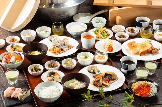 「小野の離れ 博多本店」朝食