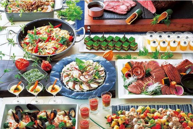 日本の夏のおもてなしをテーマにした料理メニュー