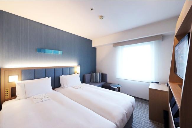 ザ ロイヤルパークホテル 広島リバーサイド 客室一例