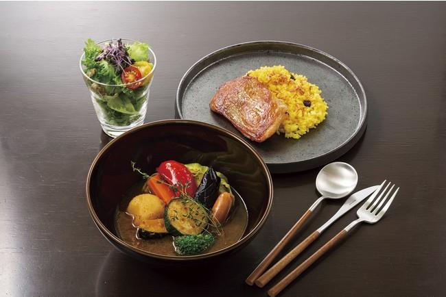 ゴロゴロ野菜の特製スープカレー