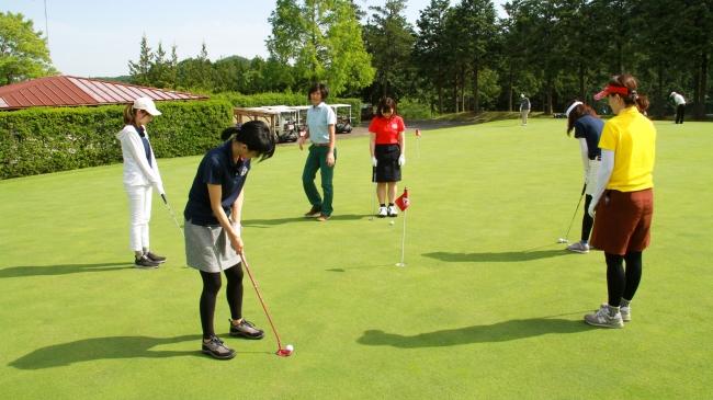 ゴルフ初心者大歓迎!