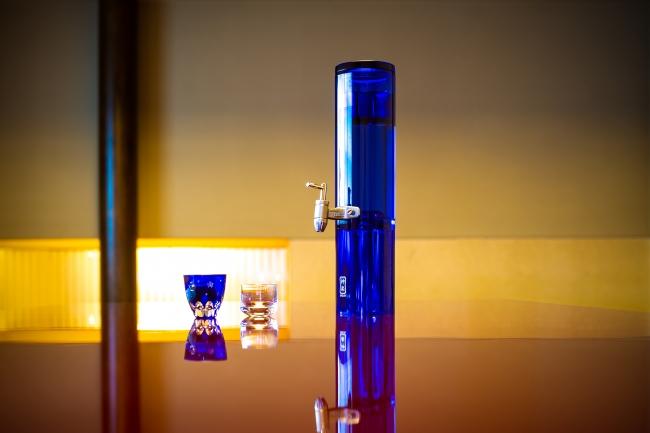 KAGURA decanter 03A Moonlight Blue