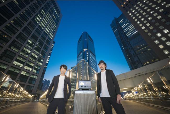左:SHINOS AMPLIFIER COMPANY代表・篠原勝 右:Lee Custom Amplifier 代表・李剛浩