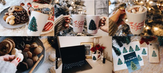 CHRISTMASHOLICオリジナルマグカップセット