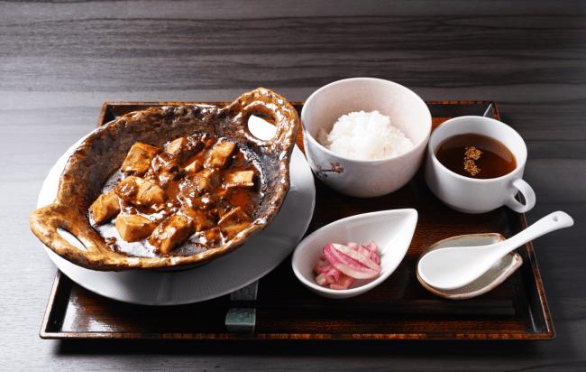 地獄麻婆豆腐ランチセット:900円※税込