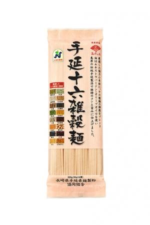 「手延十六雑穀麺」<長崎県手延素麺製粉協同組合>