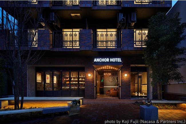 ANCHOR HOTEL FUKUYAMA外観