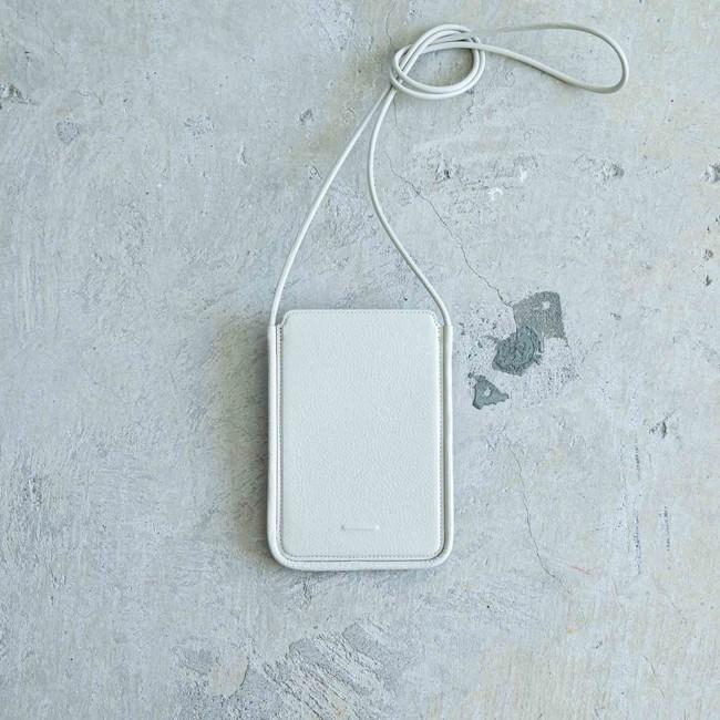 Wallet Bag White Beige