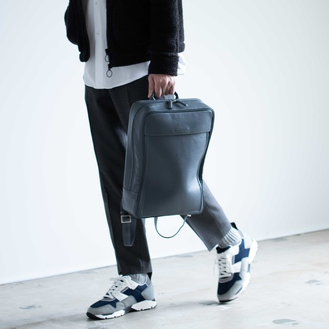Soft Backpack Small - Ash Blue