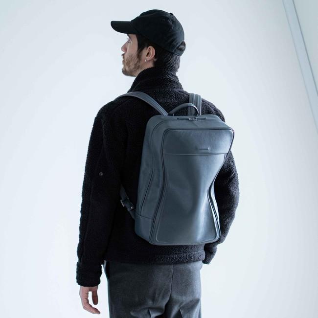 Soft Backpack Medium - Ash Blue