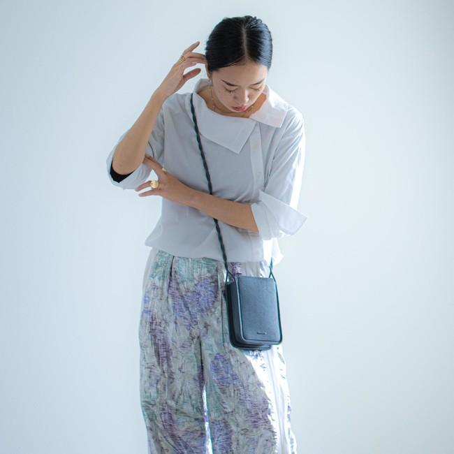 Wallet Bag Wide - Ash Blue