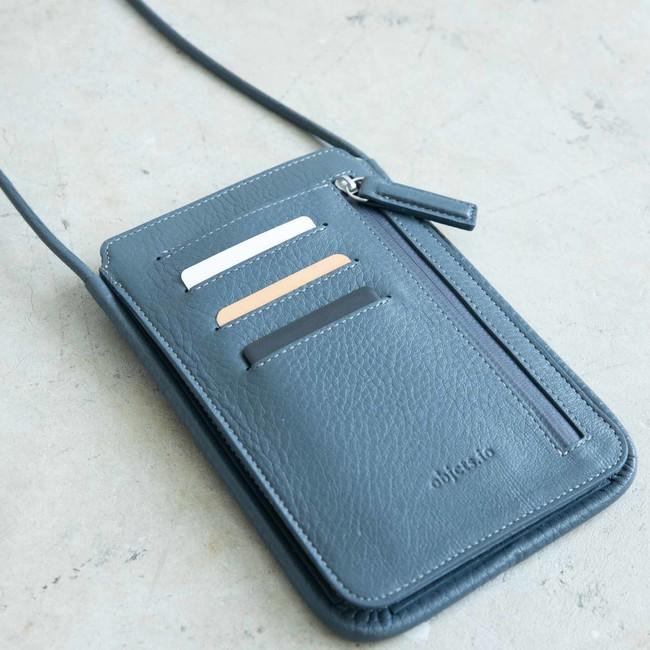 Wallet Bag - Ash Blue