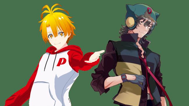 羽呂真(左)/ボヤッキー(右)