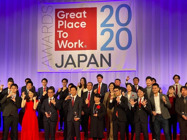2月26日にグランドハイアット東京で執り行われた表彰式の様子