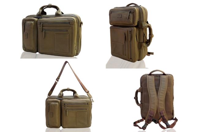 フレグランスレザー AROMA Multi Business Bag ダヴィンチ ファーロ Davinci FARO
