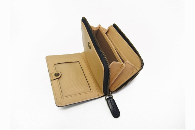BRIDLE leather Two Way Action Zip Coin&Card Holder ダヴィンチ ファーロ Davinci FARO