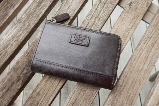 TUTTO BLOOM Tow Way Action Zip Wallet ダヴィンチ ファーロ Davinci FARO