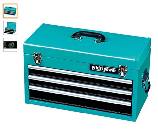 Whirl Power 三段ポータブルツールボックス