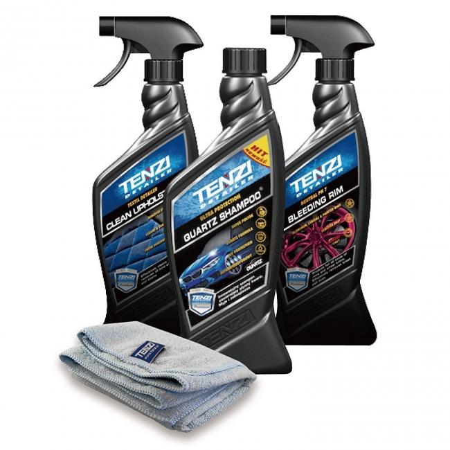 テンジ 洗車・車内清掃 DIY3点セット