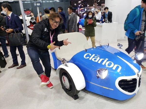クラリオン社のコンセプトカー設計・製造