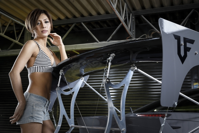 ASA SESSION the PROFESSIONAL in 東京オートサロン2020 出演モデル「水野麗子」